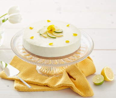 citron cheesecake recept