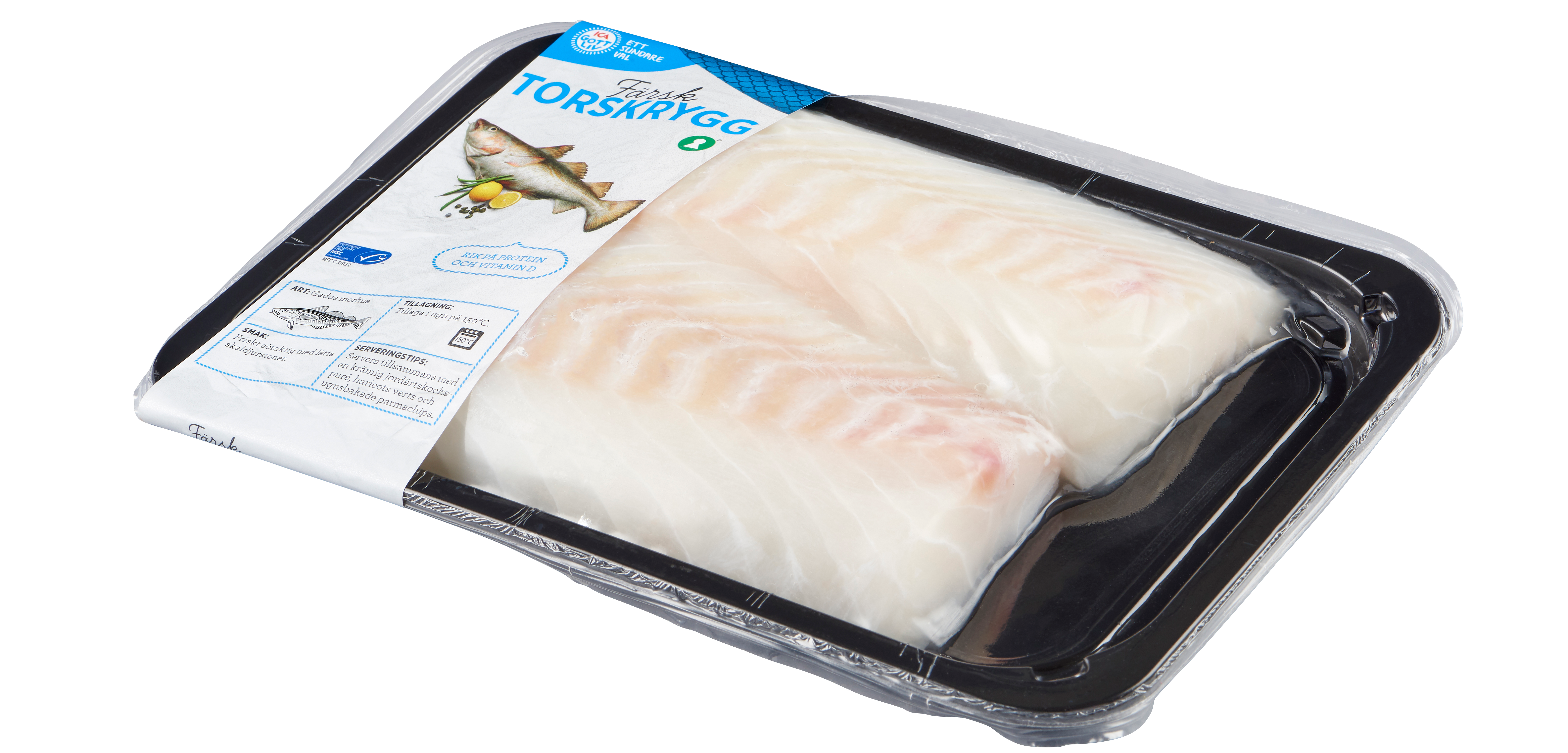 Prisvard fisk tre dagar i veckan