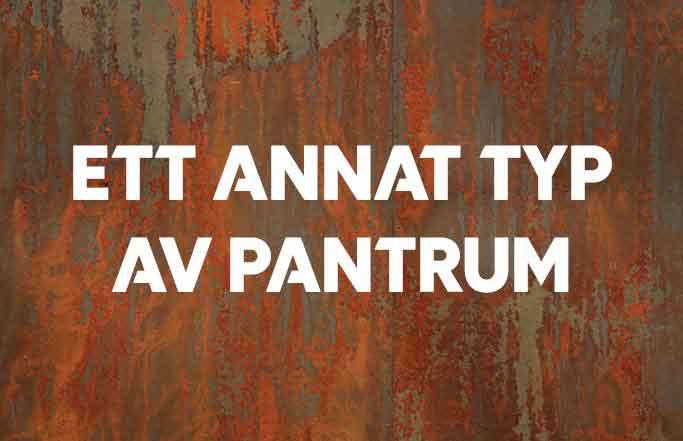 Ett annat typ av Pantrum