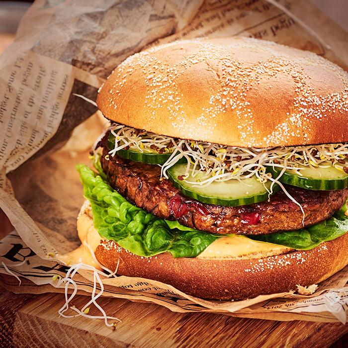 Ät klimatsmarta burgare för en bättre värld