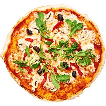 Piratens veganpizza
