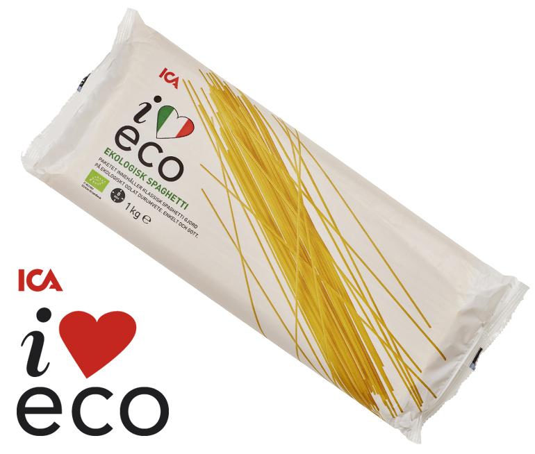 Ekologisk spaghetti