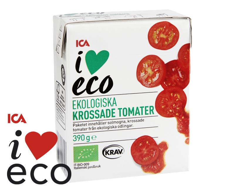 Ekologiska krossade tomater
