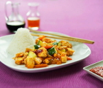 Quornwok sweet and sour