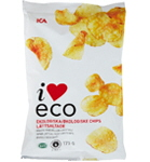 ICA I love eco Chips lättsaltade