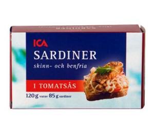 näringsvärde makrill i tomatsås