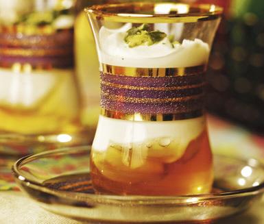Yoghurt med honung, pistasch & kardemumma