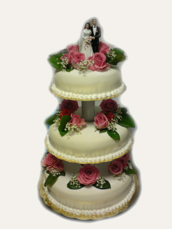 bröllopstårta ica maxi