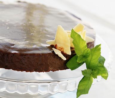 Recept: Mintchokladtårta med after eight