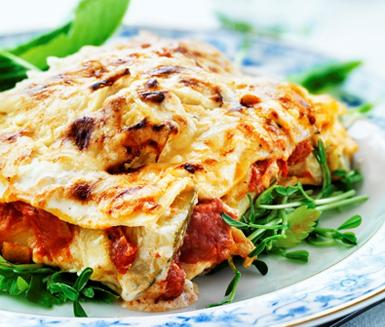 Recept: Vegetarisk lasagne