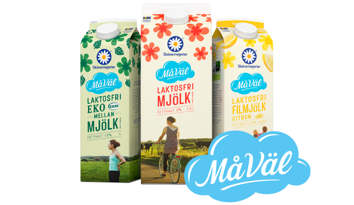 laktosfri mjölk vs vanlig mjölk