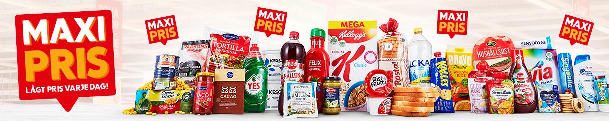 Hushållsmaskiner under ICA Maxi fantastiska erbjudanden