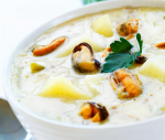 Clam chowder (musselsoppa)