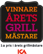 Vinnare av Årets Grillmästare 2013 på ICA.se