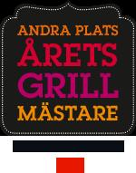 2:a plats i Årets Grillmästare 2013 på ICA.se