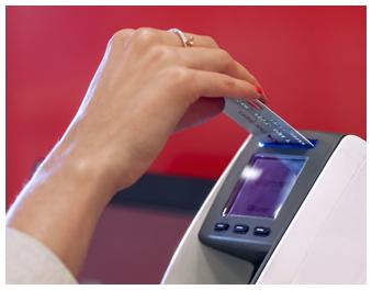 Betala räkningar kontant ica