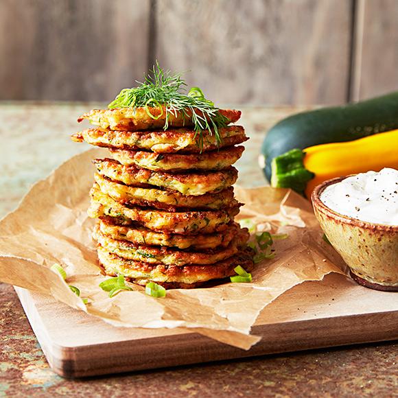 recept zucchini fetaost