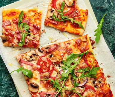 ica pizza recept