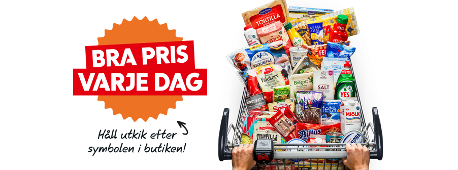 Bra pris varje dag i din ICA Supermarket