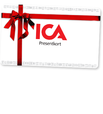 presentkort på ica