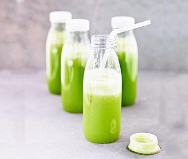 Juice med spenat