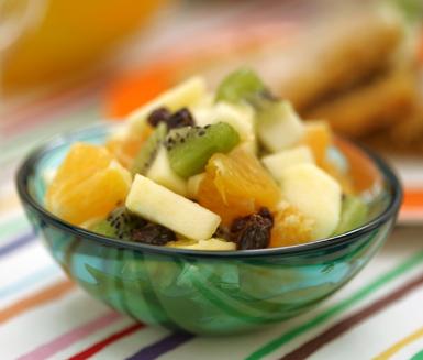 enkel fruktsallad