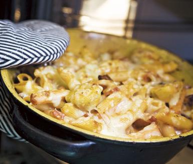 www.ica recept.se pastagratang-med-kassler-71410