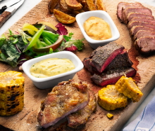 Mixed grill med bearnaise