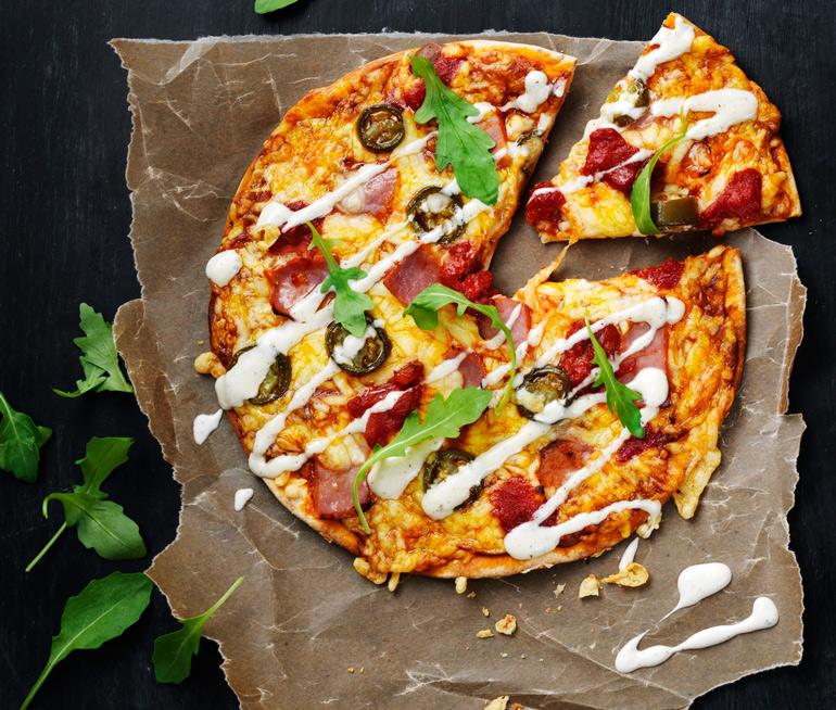 Ica fyrklövern pizza