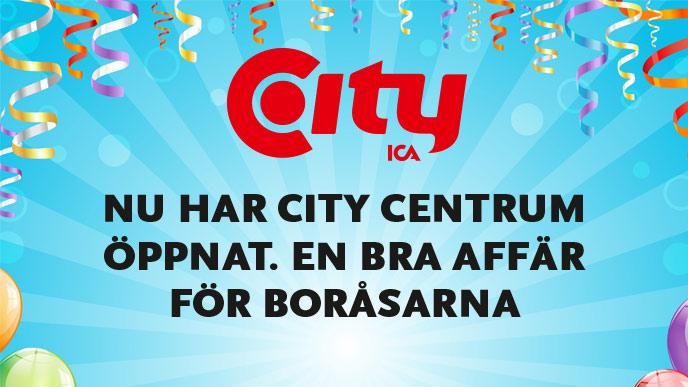 ICA CITY CENTRUM BORÅS ÖPPETTIDER