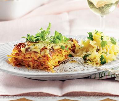 vegetarisk lasagne ica