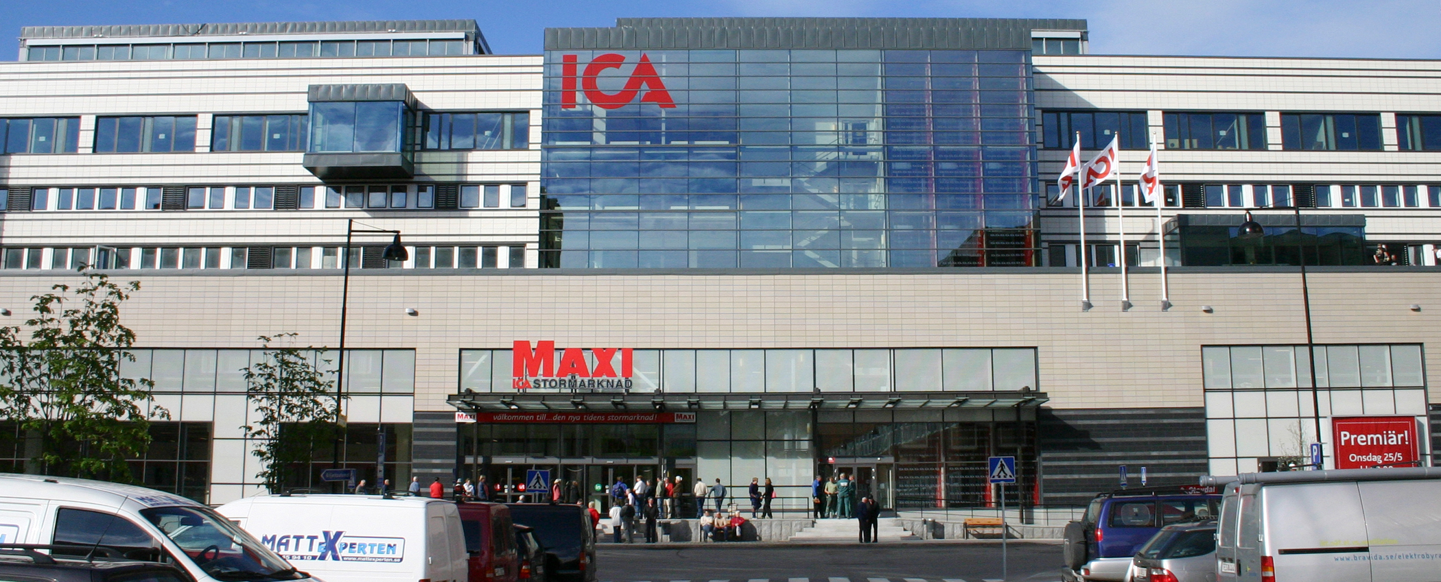 Ica maxi parkering