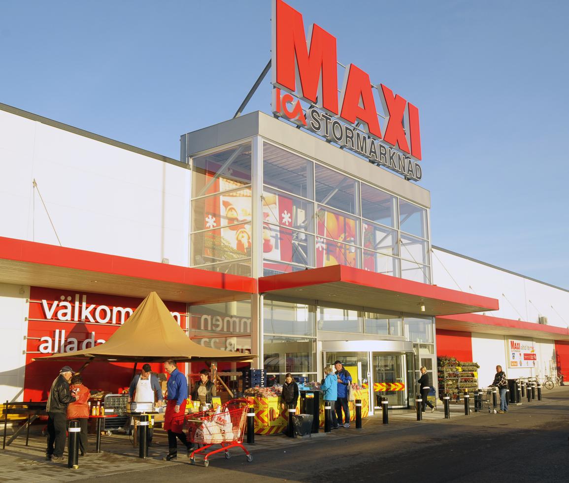 Butiken Maxi ICA Stormarknad Härnösand