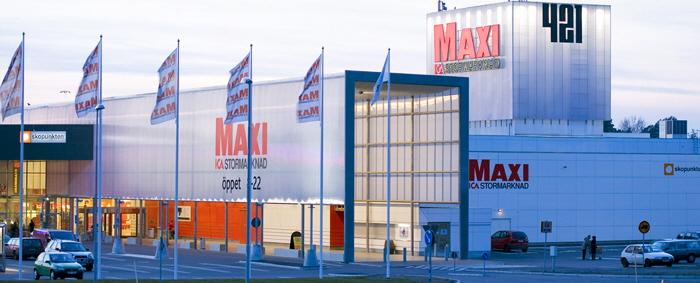 Butiken Maxi ICA Stormarknad Högsbo