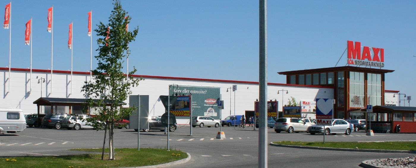 Historia Maxi ICA Stormarknad Luleå