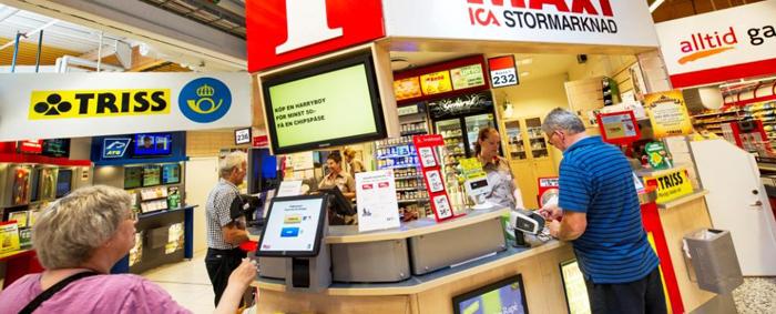 Information& spel Maxi ICA Stormarknad Mellbystrand