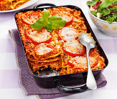 lasagne med bechamelsås