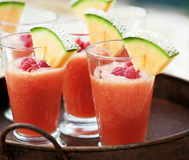 Melon Slush Recipe — Dishmaps