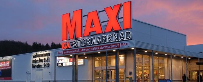 Butiken Maxi ICA Stormarknad Olofström