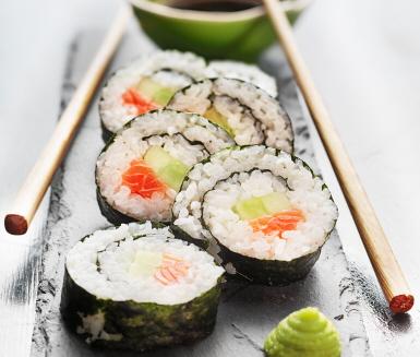 Maki sushi recept