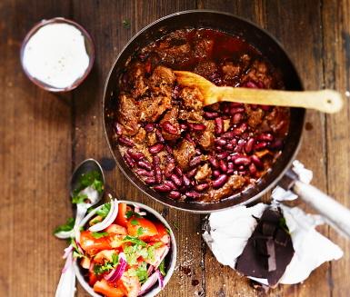 Recept: Texas chili