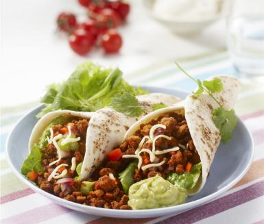 Tortillas Ica Vegetarisk