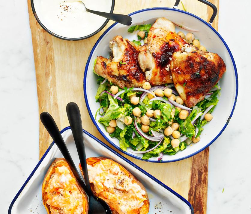 Marockansk kyckling recept